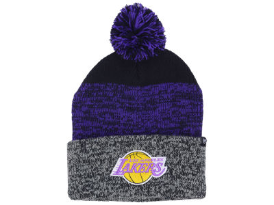 Los Angeles Lakers '47 NBA Black Static Pom Knit
