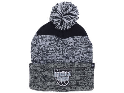 New Jersey Nets '47 NBA Black Static Pom Knit