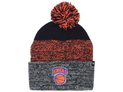 New York Knicks '47 NBA Black Static Pom Knit