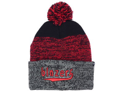 Portland Trail Blazers '47 NBA Black Static Pom Knit