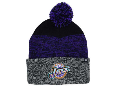 Utah Jazz '47 NBA Black Static Pom Knit