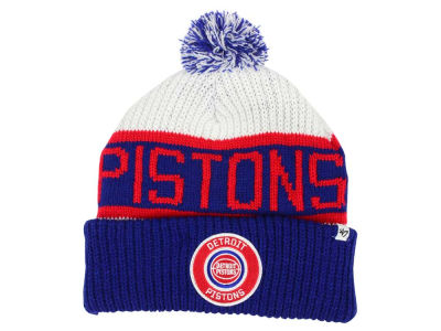Detroit Pistons '47 NBA '47 Tackle Box Pom Knit