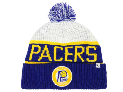 Indiana Pacers '47 NBA '47 Tackle Box Pom Knit