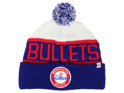 Washington Bullets '47 NBA '47 Tackle Box Pom Knit