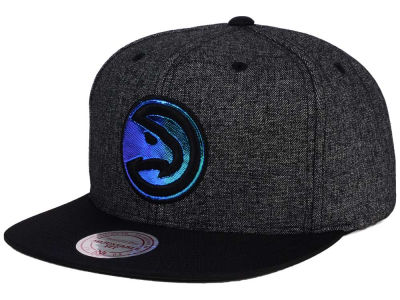 Atlanta Hawks Mitchell and Ness NBA Reflective Gaze Snapback Cap