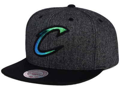 Cleveland Cavaliers Mitchell and Ness NBA Reflective Gaze Snapback Cap