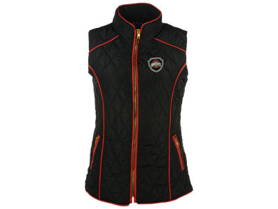 Ohio State Buckeyes Gameday Couture NCAA Women's Diamond Quilted Puffer Vest