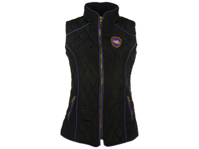 LSU Tigers Gameday Couture NCAA Women's Diamond Quilted Puffer Vest