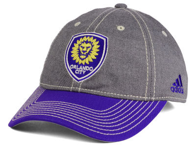 Orlando City SC adidas MLS Shadow Slouch Cap