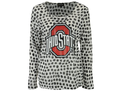 Ohio State Buckeyes Gameday Couture NCAA Women's Open Back Polka Dot Sweater