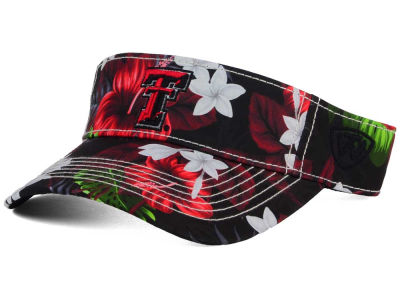 Texas Tech Red Raiders Top of the World NCAA Cove Visor