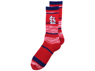 St. Louis Cardinals For Bare Feet RMC Stripe Socks