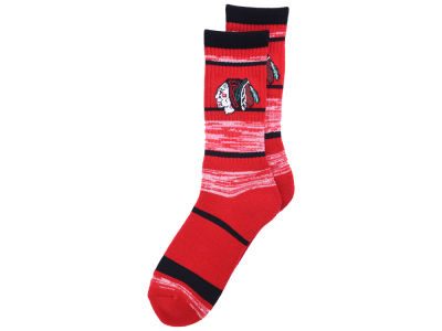 Chicago Blackhawks For Bare Feet RMC Stripe Socks