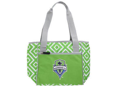 Seattle Sounders FC Logo Brands 16 Can Cooler Tote
