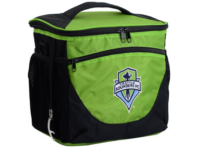 Seattle Sounders FC Logo Brands 24 Can Cooler