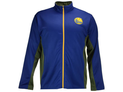 Golden State Warriors Majestic NBA Men's Panel Track Jacket