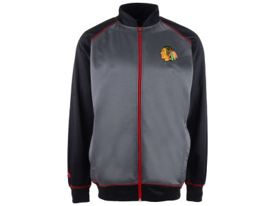Chicago Blackhawks Majestic NHL Men's Wow Track Jacket