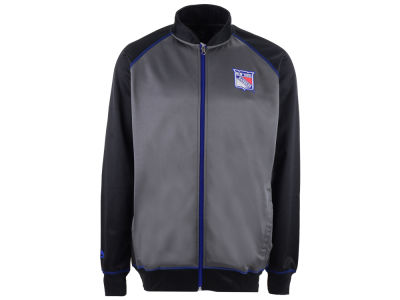 New York Rangers Majestic NHL Men's Wow Track Jacket