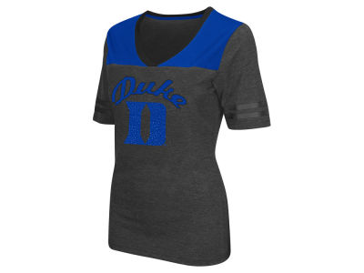 Duke Blue Devils Colosseum NCAA Women's Twist V-Neck T-Shirt