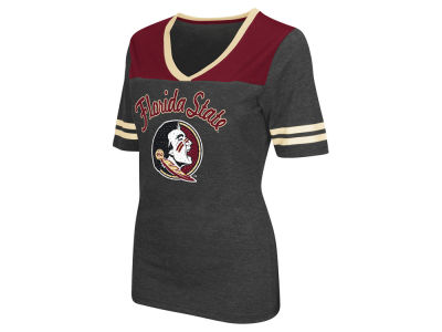Florida State Seminoles Colosseum NCAA Women's Twist V-Neck T-Shirt
