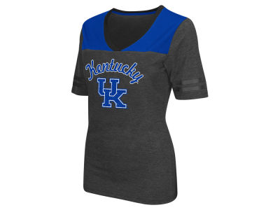 Kentucky Wildcats Colosseum NCAA Women's Twist V-Neck T-Shirt