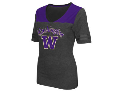 Washington Huskies Colosseum NCAA Women's Twist V-Neck T-Shirt