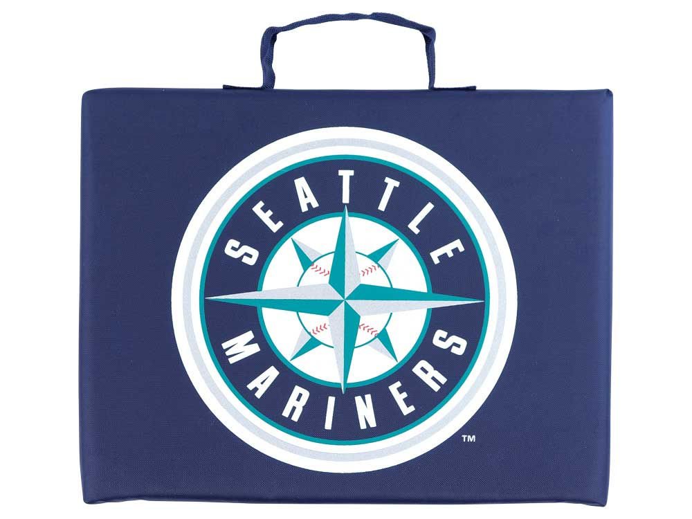 Seattle Mariners Logo Brands Bleacher Seat Cushion Lids