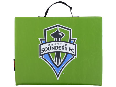 Seattle Sounders FC Logo Brands Bleacher Seat Cushion
