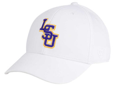 LSU Tigers Top of the World NCAA Coolon Stretch Cap