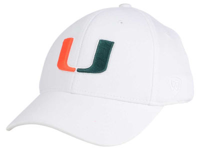 Miami Hurricanes Top of the World NCAA Coolon Stretch Cap