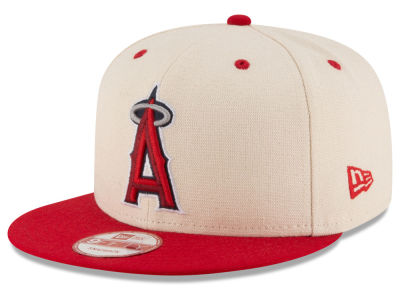 Los Angeles Angels New Era MLB Inlinen Color 9FIFTY Snapback Cap
