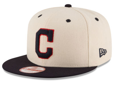 Cleveland Indians New Era MLB Inlinen Color 9FIFTY Snapback Cap