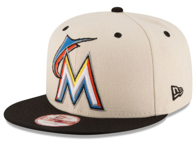 Miami Marlins New Era MLB Inlinen Color 9FIFTY Snapback Cap