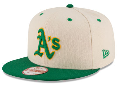 Oakland Athletics New Era MLB Inlinen Color 9FIFTY Snapback Cap