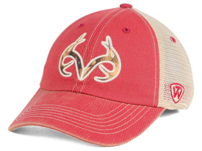 Arkansas Razorbacks Top of the World NCAA Fashion Roughage Cap