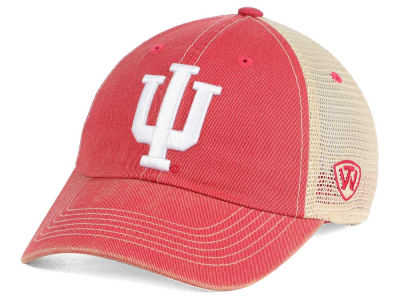 Indiana Hoosiers Top of the World NCAA Fashion Roughage Cap
