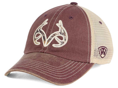 Mississippi State Bulldogs Top of the World NCAA Fashion Roughage Cap