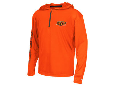 Oklahoma State Cowboys Colosseum NCAA Youth Sleet Quarter Zip Hoodie