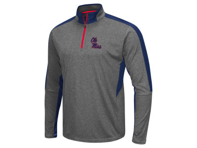 Ole Miss Rebels Colosseum NCAA Men's Atlas Quarter Zip Pullover