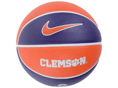 Clemson Tigers Nike Mini Rubber Basketball - Gen II