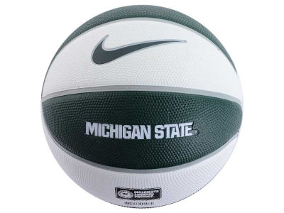 Michigan State Spartans Nike Mini Rubber Basketball - Gen II