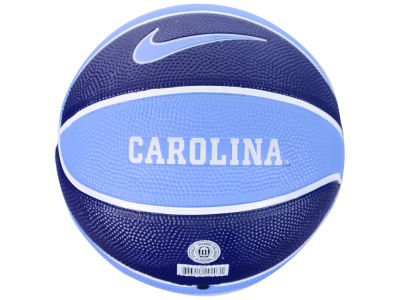 North Carolina Tar Heels Nike Mini Rubber Basketball - Gen II