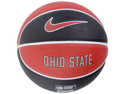 Ohio State Buckeyes Nike Mini Rubber Basketball - Gen II