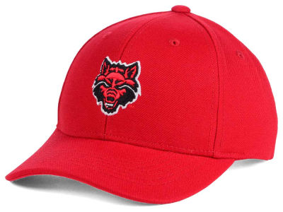 Arkansas State Red Wolves Top of the World NCAA Youth Ringer Cap