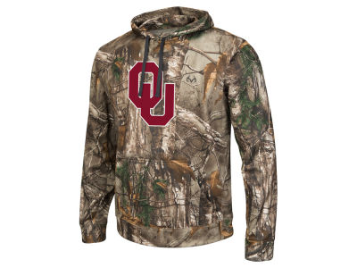 Oklahoma Sooners Colosseum NCAA Men's Real Tree Breech Pullover Hoodie