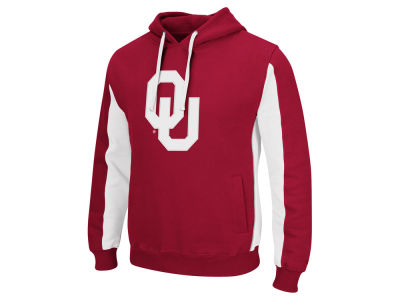 Oklahoma Sooners Colosseum NCAA Men's Thriller Applique Hoodie