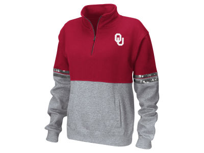 Oklahoma Sooners Colosseum NCAA Women's Rudy Quarter Zip Sweatshirt