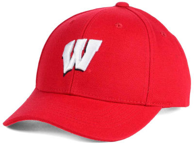 Wisconsin Badgers Top of the World NCAA Youth Ringer Cap