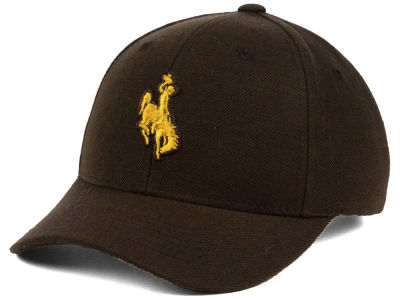 Wyoming Cowboys Top of the World NCAA Youth Ringer Cap