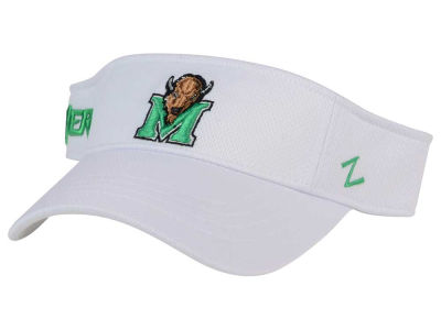 Marshall Thundering Herd Zephyr NCAA Strongside Visor